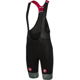 Castelli Free Aero Race Bib Shorts Heren grijs/zwart